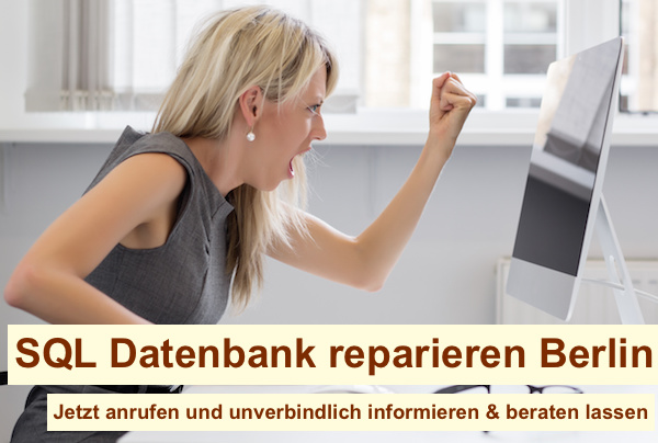 SQL Datenbank reparieren Berlin