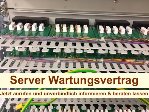 Server Wartungsvertrag Berlin