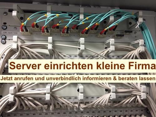 Server einrichten kleine Firma Berlin